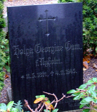 Gravsten p Aaby Kirkegaard